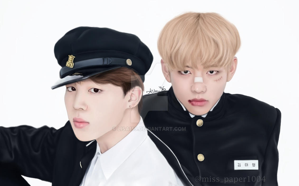 V and Jimin - BTS by Lisa159