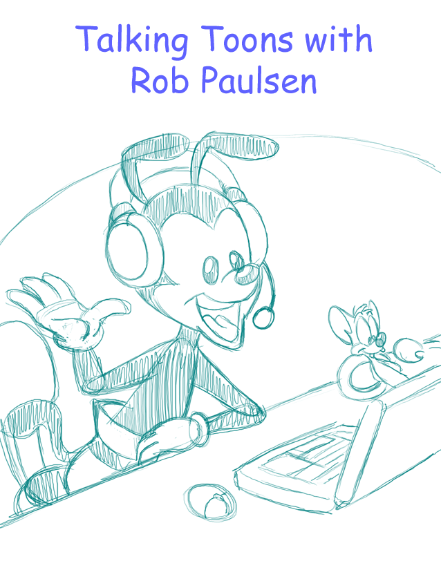Talking Toons (Yakko Pinky) work in progress by LateCustomer