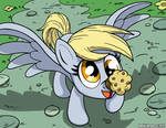 Derpy and Muffin (commission)