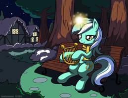 Lyra's Winter Night by LateCustomer