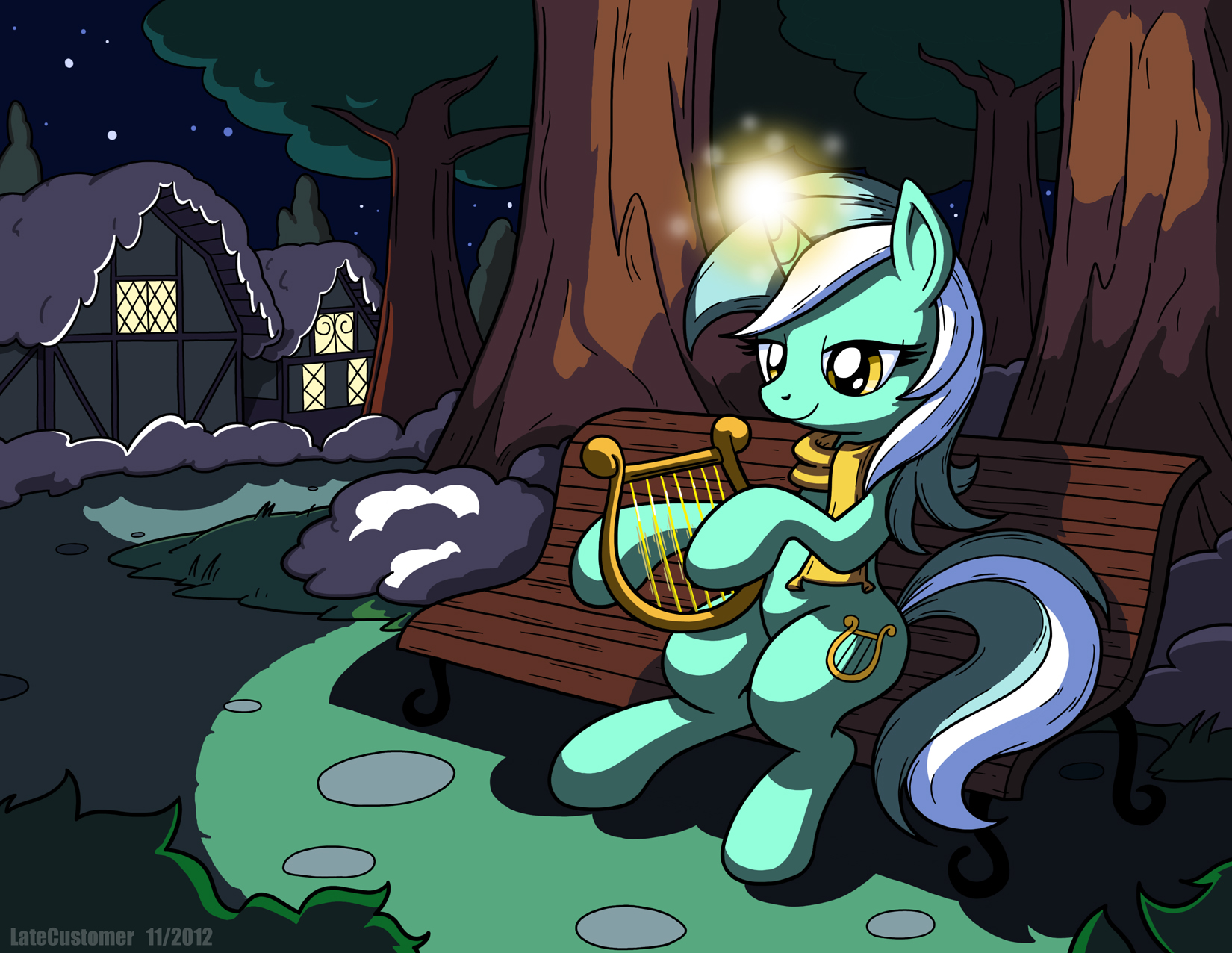 Lyra's Winter Night