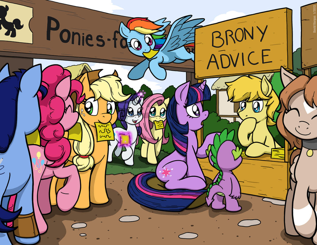 Brony Advice - Link to column in description by LateCustomer