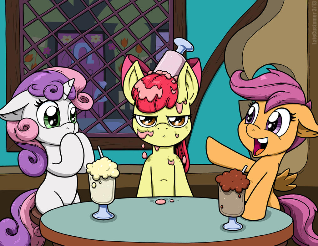 CMC Milkshake's on Apple Bloom by LateCustomer