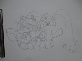 CMC Sweetie Belle Crying - Commission by LateCustomer
