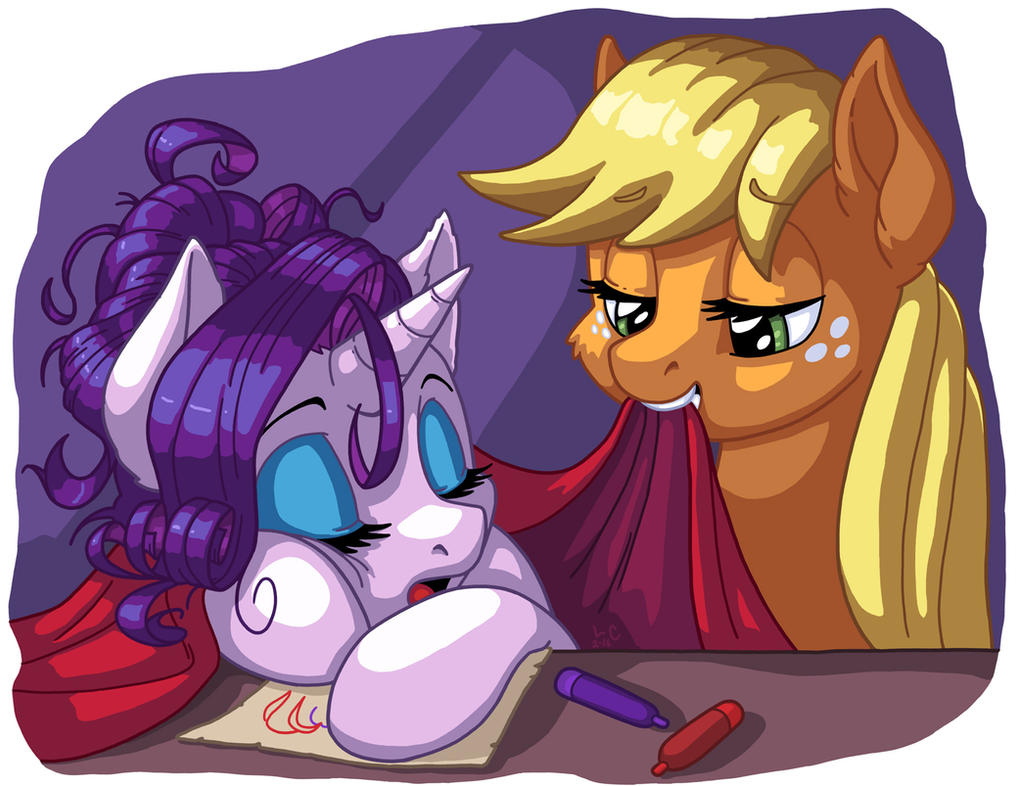 Gem Pony is Tired by LateCustomer
