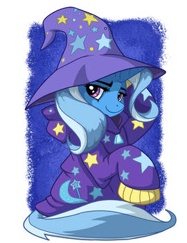 Trixie In Over-sized Sweater