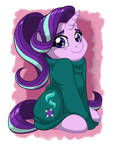 Starlight In Oversized-sweater