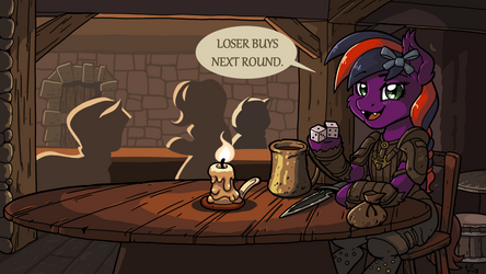 Loser Buys Next Round - Commission