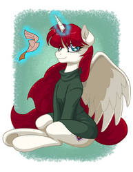 Fausticorn in Sweater by LateCustomer