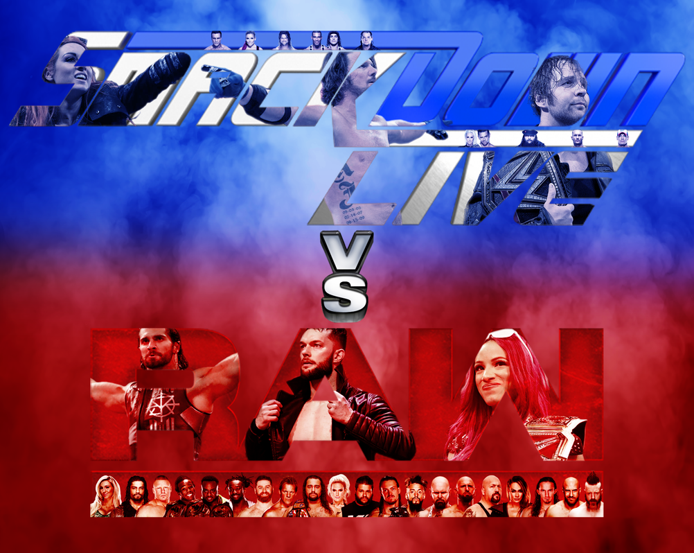 WWE SmackDown Vs Raw Poster By JAC121 DeviantArt