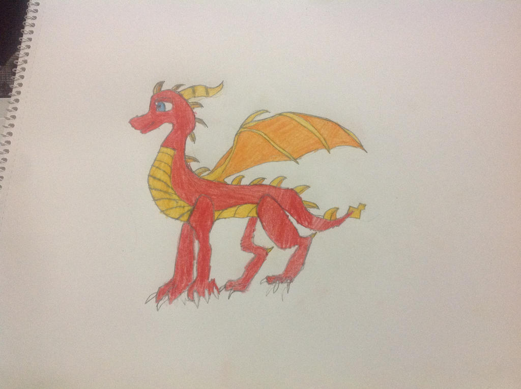 Drago The Fire Dragon by FireswordDragon
