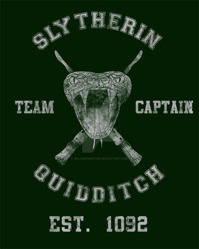Slytherin Wallpaper: Slytherin Quidditch By Spacemonkeydr On DeviantArt