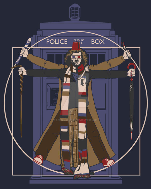 Vitr-Whovian Doctor by spacemonkeydr