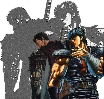 Kenshiro VS Gatsu by Kenshir0H