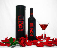 Rozetta Wine Label by Jinoka