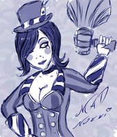 Mad Moxxi by LordAeonN