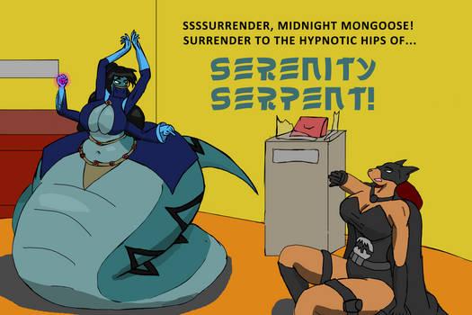 Serenity Serpent vs Midnight Mongoose