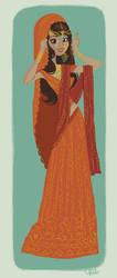 Indian Bride by tinysnail