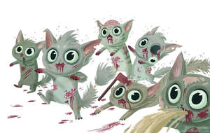 zombie kitties
