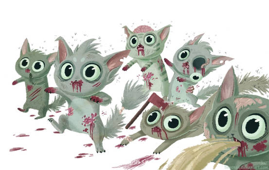 zombie kitties
