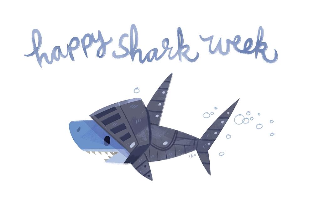 shark knight by tinysnail