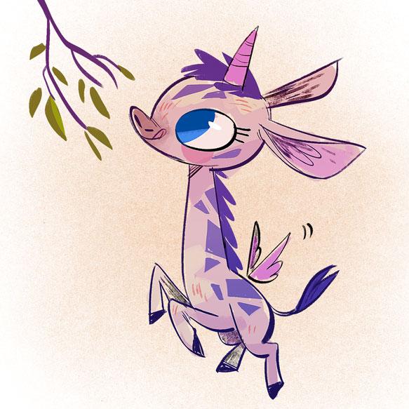 girafficorn by tinysnail