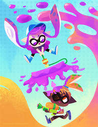 splatoon - inklings
