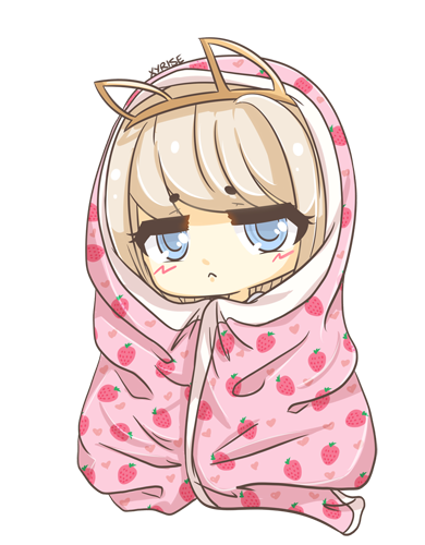 wrapped in blanket by xyrise on deviantart