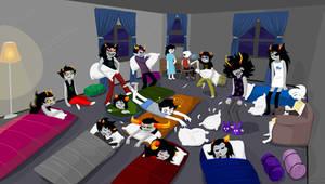 Night In: Respiteblock Party by Detharmonics