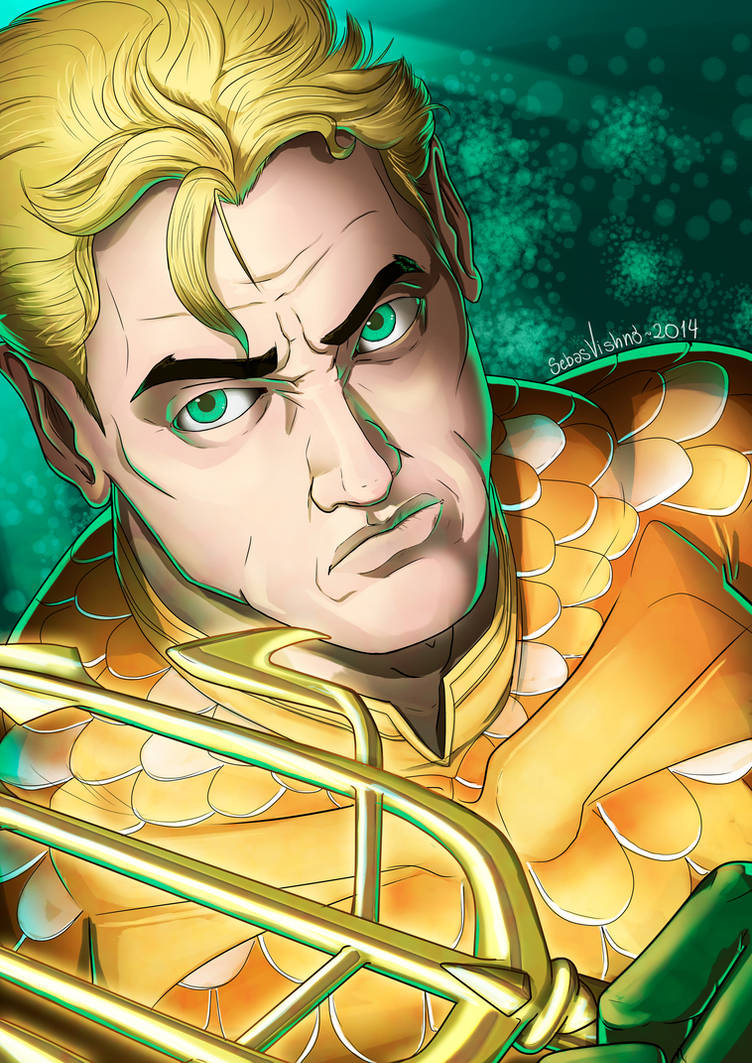 Aquaman Portrait by SebasVishno