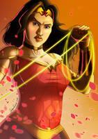 Wonder Woman - Portrait by SebasVishno
