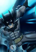 Batman Portrait by SebasVishno