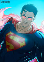 Superman - Portrait by SebasVishno