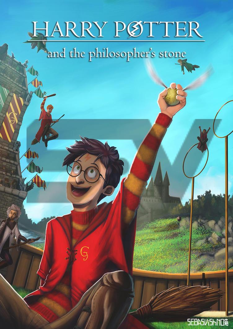 Alternative HP1 book cover by SebasVishno