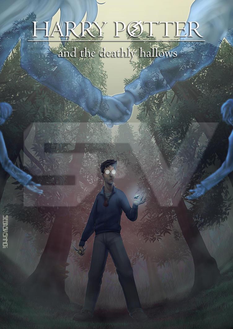 Alternative HP7 book cover by SebasVishno