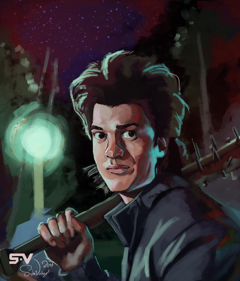 Steve harrington by sebasvishno on deviantart for Harrington craft show 2017