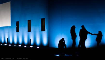 Night lights in Berlin