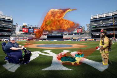 Pokemon At Yankee Stadium by skronlage