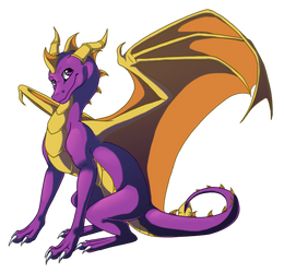 Spyro 3 by Lucie-P