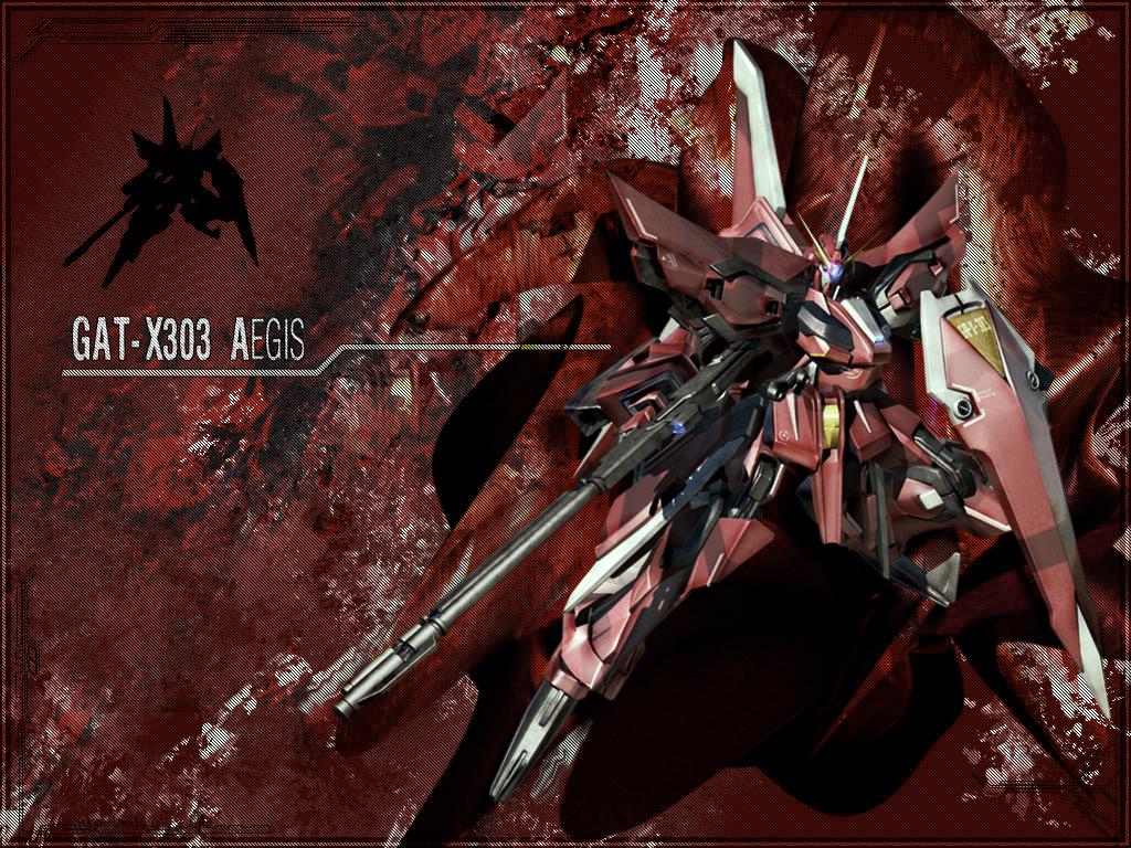 GAT X303 Aegis by Brendeth Reanimate The Inner Gundam Inside You: 25+ Formidable Gundam Wallpaper Designs