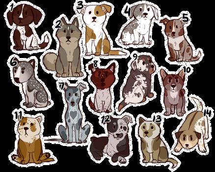 [OPEN] Chibi Puppies For Adoption!