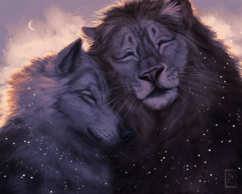 The Lion and The Wolf