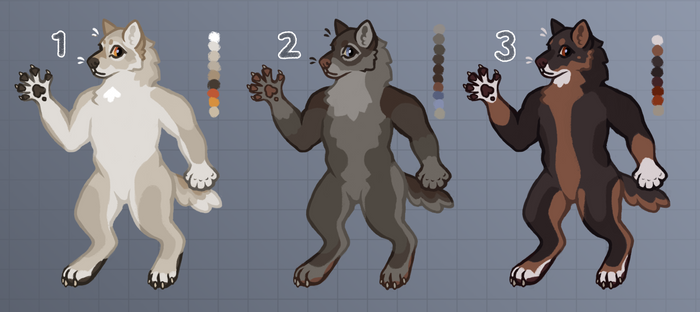 [OPEN] Anthro Wolves