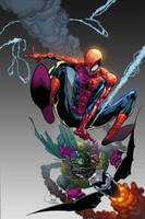 Spiderman cover by DavidCuriel