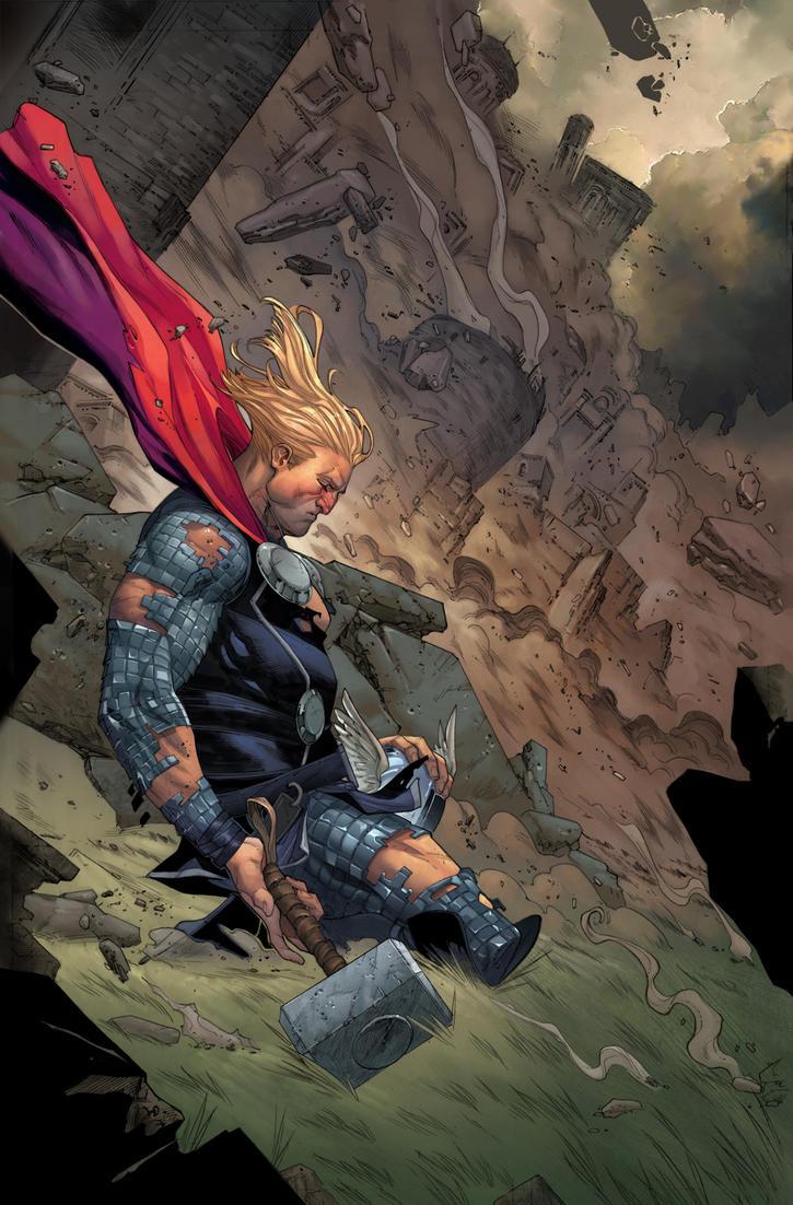 Thor by DavidCuriel