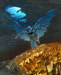 Batman pin up by DavidCuriel