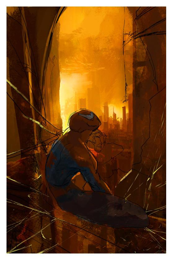 Spider-man by DavidCuriel