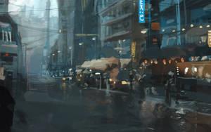 streetafter rain by DavidCuriel