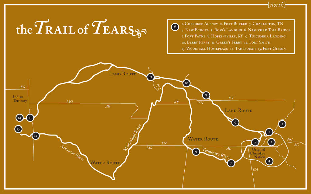 trail of tears map by unclone on deviantart. Black Bedroom Furniture Sets. Home Design Ideas