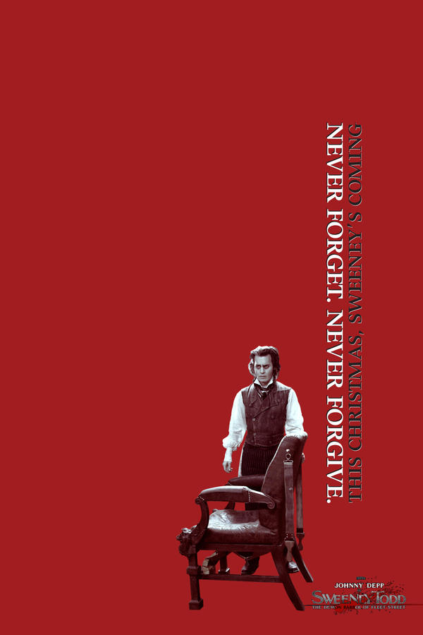 sweeney todd poster by unclone